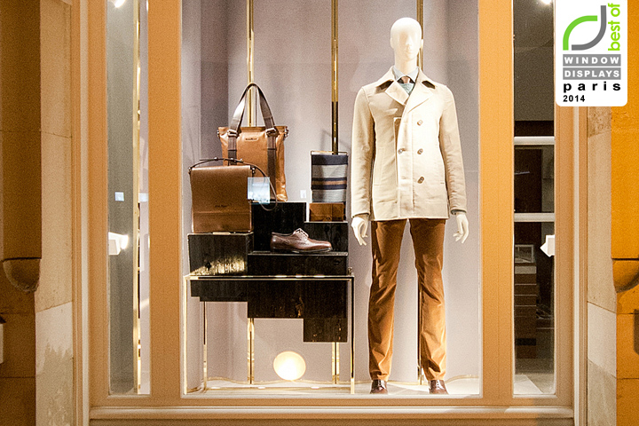 Salvatore Ferragamo windows 2014 Summer, Paris