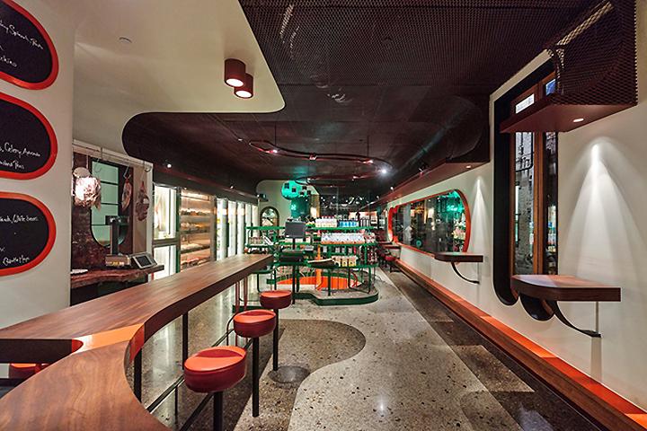 澳大利亚墨尔本Spring商店设计