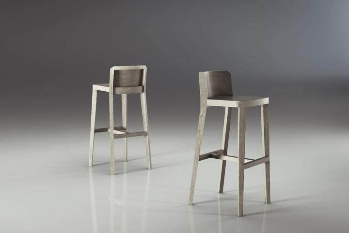 Stool retail design blog for Marcato arredamenti