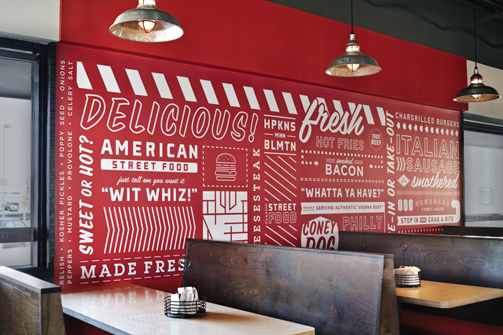 Grill retail design blog for American cuisine restaurants