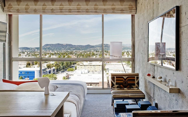 The line hotel by knibb design los angeles california for Design hotel los angeles