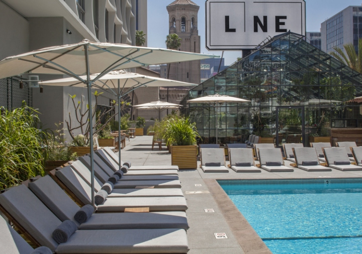 The line hotel by knibb design los angeles california retail design blog - The line hotel los angeles ...