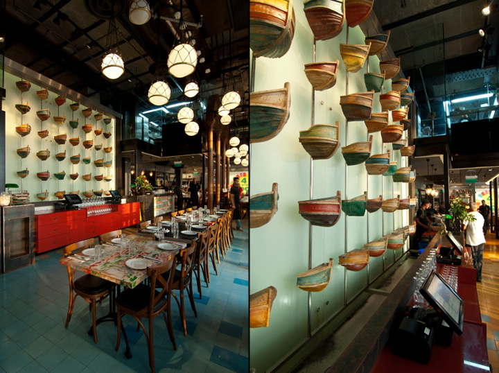 The Old Man Amp The Sea Restaurant By Nir Portal Architects