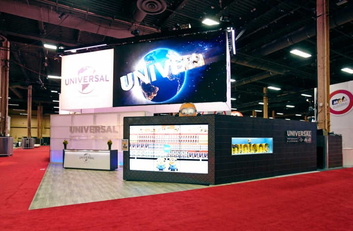187 Universal Partnerships Amp Licensing Booth By Glow