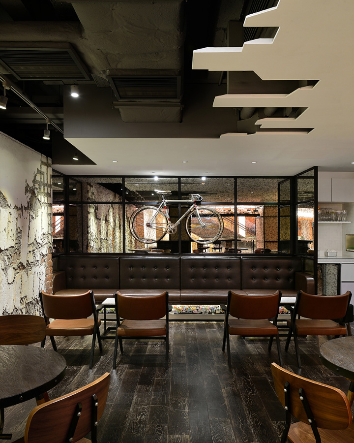 Urban bakery cafe by Joey Ho Design Hong Kong China 03 Urban bakery café by Joey Ho Design, Hong Kong   China