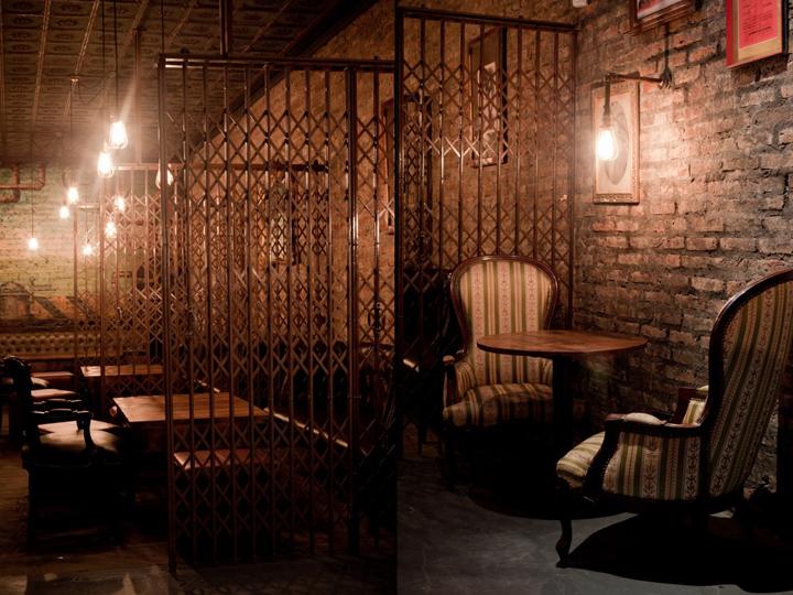 Victoria Brown coffe shop u0026 bar u0026 restaurant by Hitzig Militello Architects, Buenos Aires ...