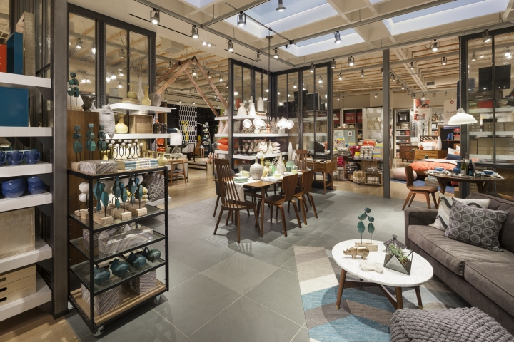 West elm home furnishings store by mbh architects alameda for Home interior decor stores