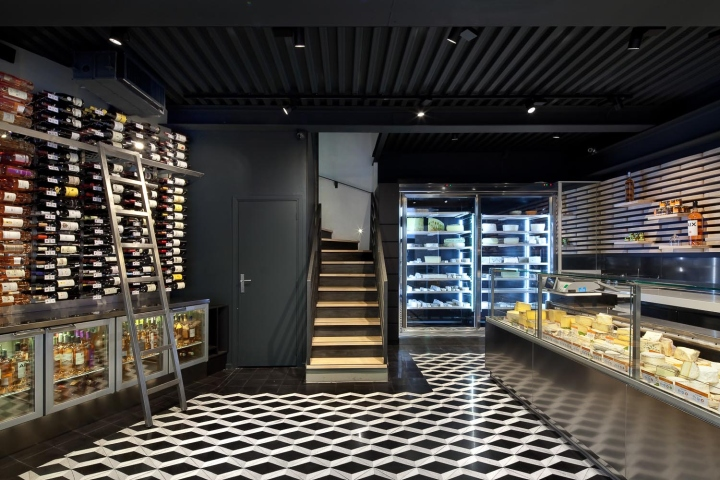 葡萄酒和奶酪店设计