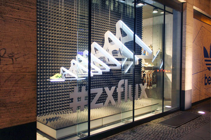 size 40 87793 7a8a9 » Adidas Originals ZX FLux windows by Studio XAG, Berlin – Germany