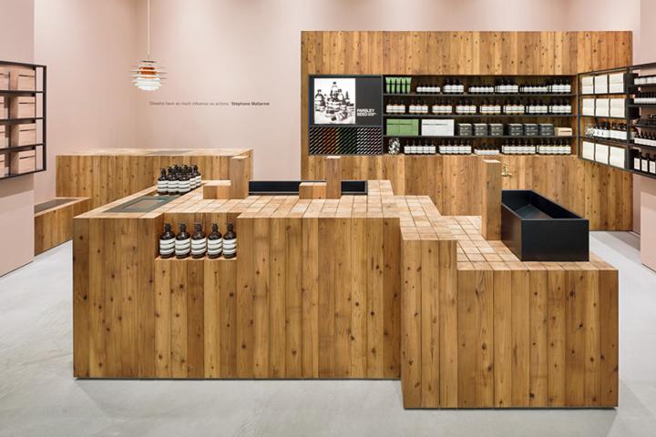 日本-大阪–Aesop化妆品店设计