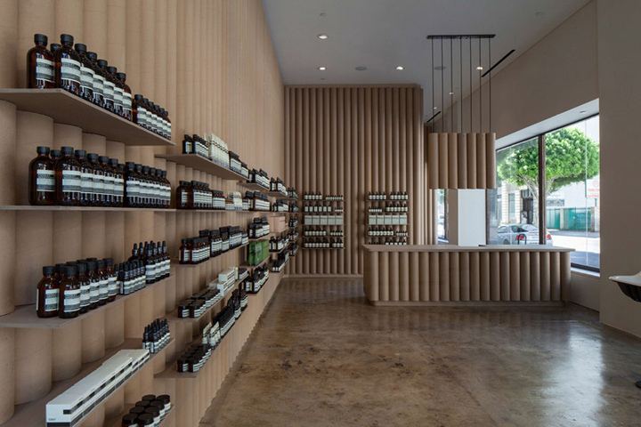 Aesop store by Brooks + Scarpa, Los Angeles – California