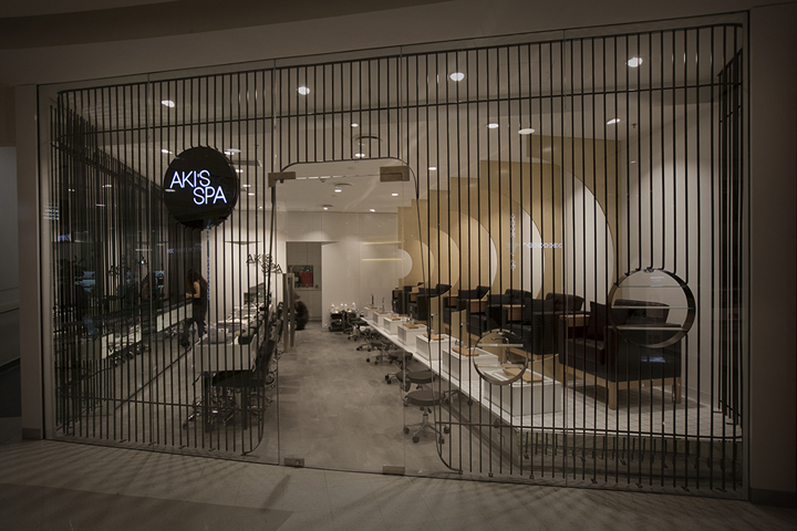 Akis Spa by Studio MKZ Sydney Australia Retail Design