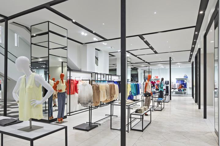 哥斯达黎加Almacenes 女装店设计