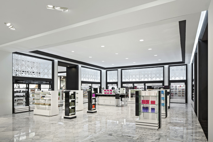 Store entrance retail design blog for Interior design department