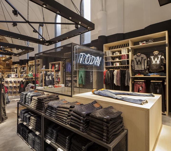 比利时America Today 服装店设计