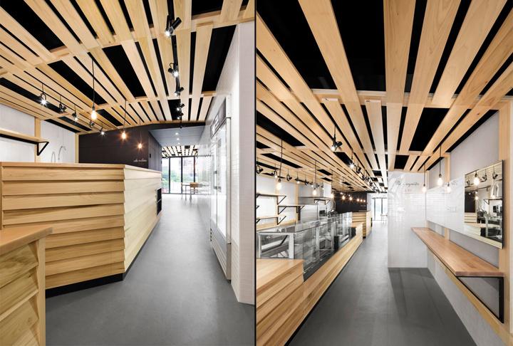 加拿大蒙特利尔烘焙咖啡店设计