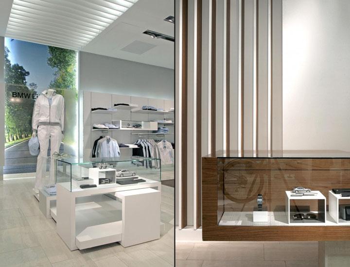 Bmw lifestyle store by plajer franz studio munich for Interior design munich