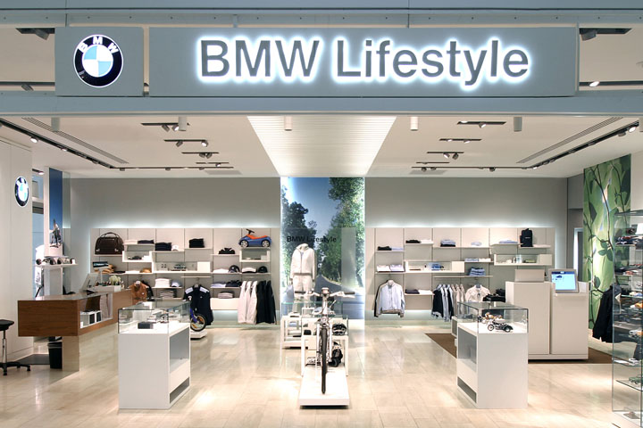 Bmw lifestyle store by plajer franz studio munich for Bmw living style