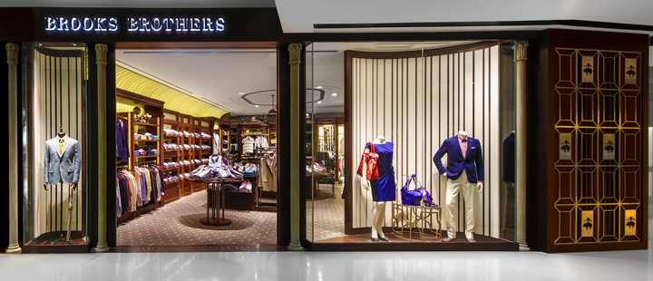 Brooks brothers store by stefano tordiglione hong kong retail design blog - Brooks brothers corporate office ...