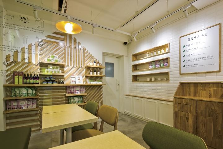 Cafe BBong Cha By Friends Design Seoul Korea