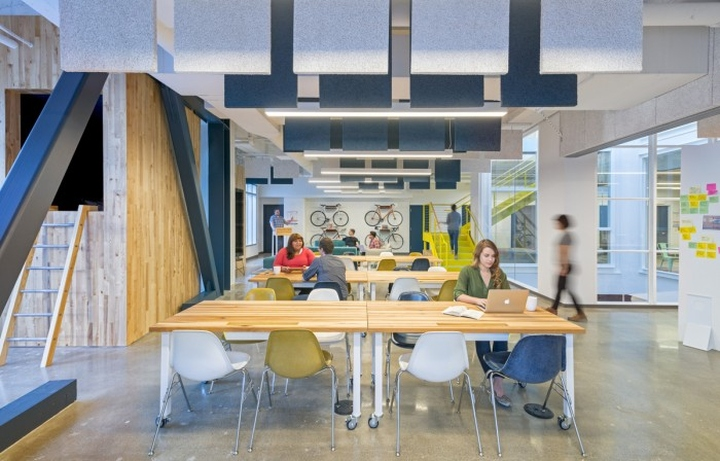 Capital One Labs Office By Studio O A San Francisco