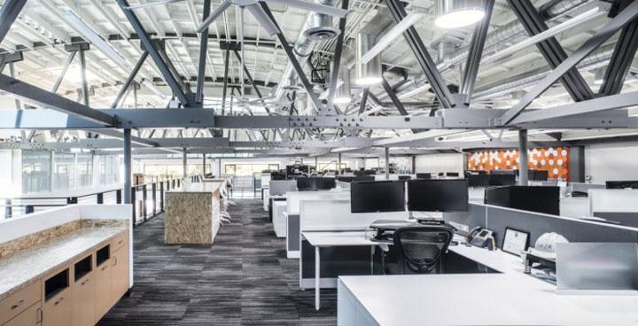 Fme Architecture Design: DPR Construction Office By FME Architecture + Design, San