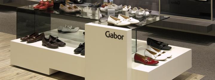 德国-法兰克福–Gabor鞋店设计