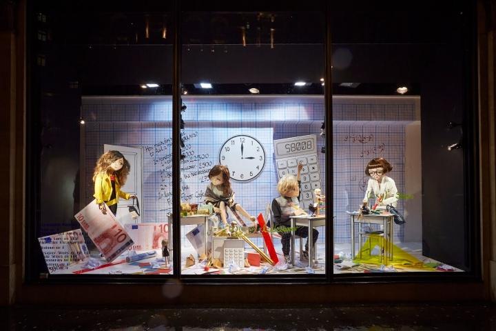 187 Harvey Nichols School Of Fashion Windows London Uk