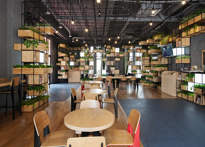 187 Home Caf 233 By Penda Beijing China