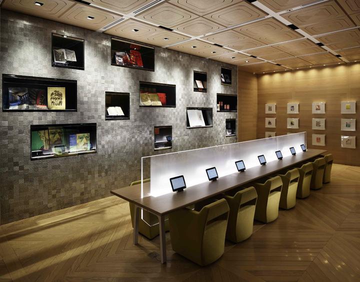 Honto cafe by noriyuki otsuka design office shinjuku for Office design japanese