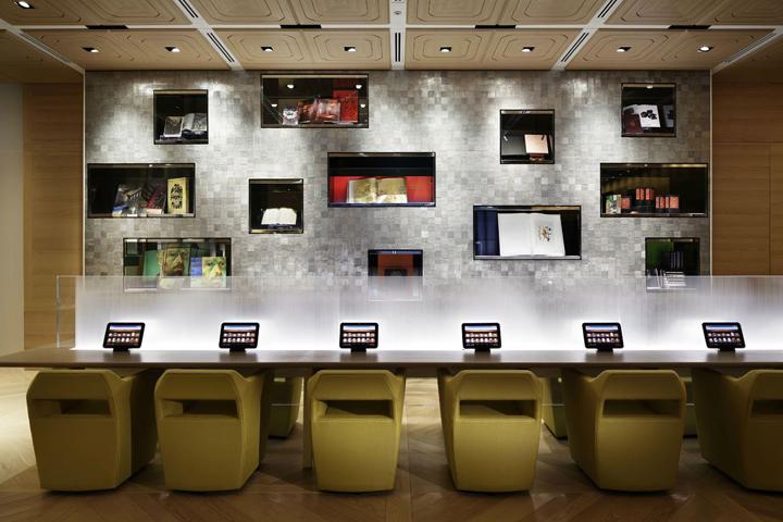 Honto cafe by noriyuki otsuka design office shinjuku for Office design japan