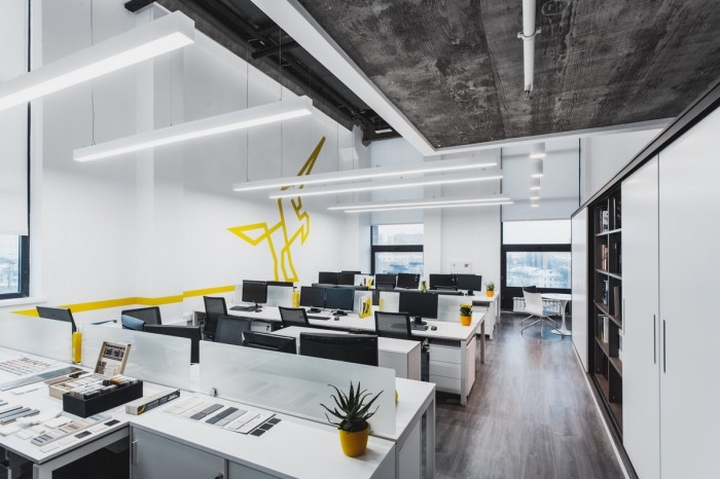 The Office Has Been Arranged In Artplay Design Center And Decorated Loft Style Designers Have Shown Benefits Of A Former