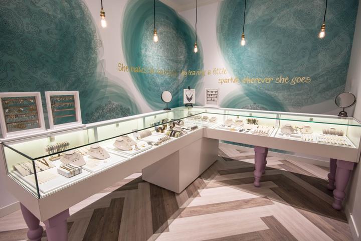 加拿大卡尔加里Joydrop饰品店设计