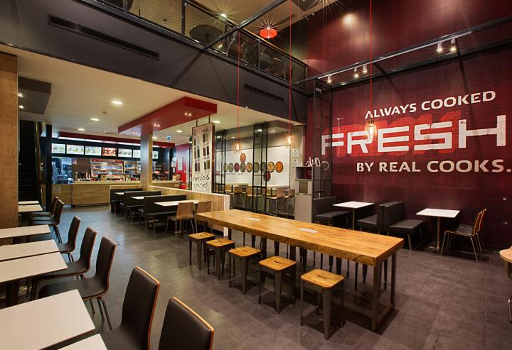 187 Kfc Restaurant Concept By Cbte Architecture Turkey