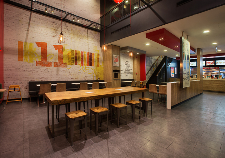 187 Kfc Restaurant Concept By Cbte Architecture Turkey