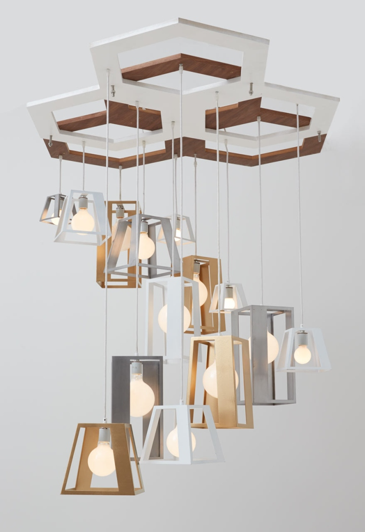 Fancy http design milk lantern helix chandelier think fabricate