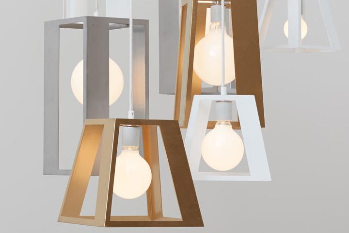 Fabulous Lantern Helix chandelier by Think Fabricate