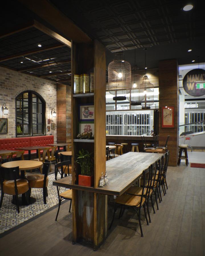 Retail design blog mama s wok restaurant by archizone for Australian cuisine restaurants