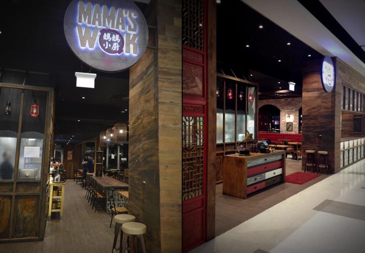 Retail design blog mama s wok restaurant by archizone for Australian cuisine restaurants sydney