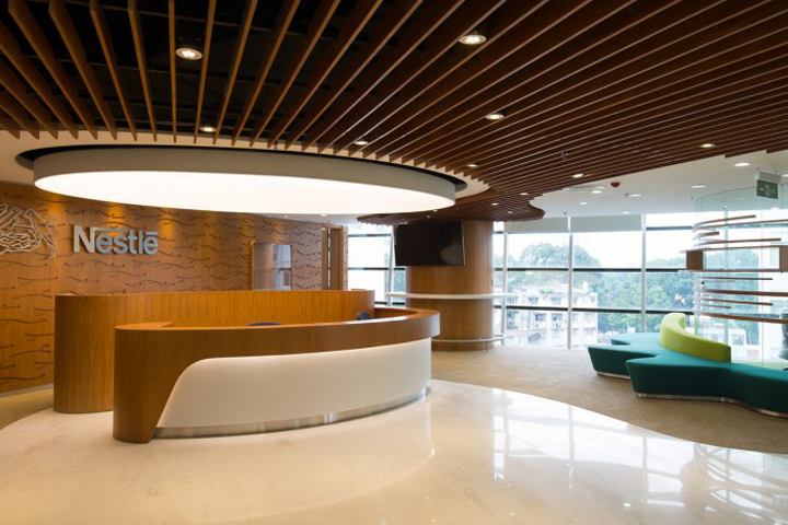 Nestl office by adp ho chi minh vietnam retail for Interior design in vietnam