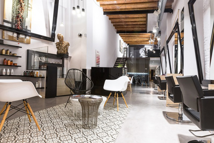 187 Noguera Hair Salon By Cm2 Disseny Barcelona Spain