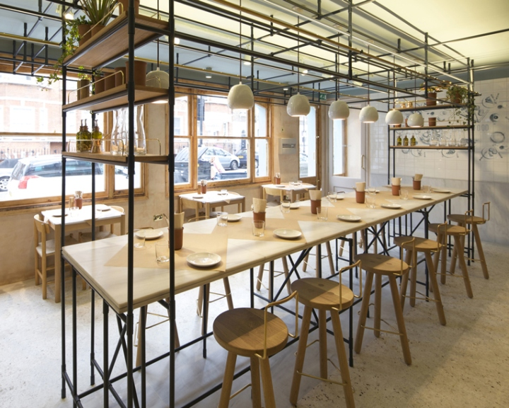 187 Opso Greek Restaurant By K Studio London Uk