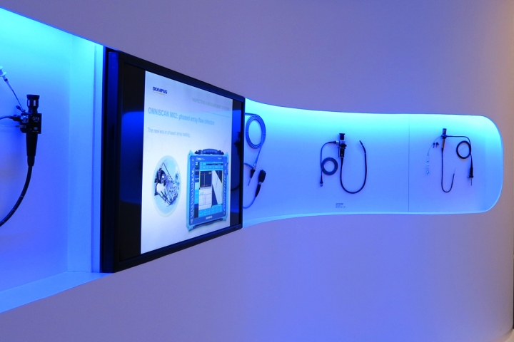 德国汉堡奥林巴斯照明展厅si设计