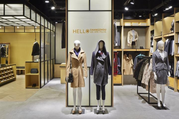 中国常州P.S.FA 服装店设计