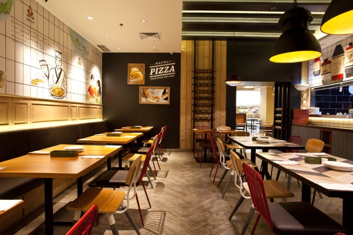 Popolomama japanese italian restaurant by metaphor