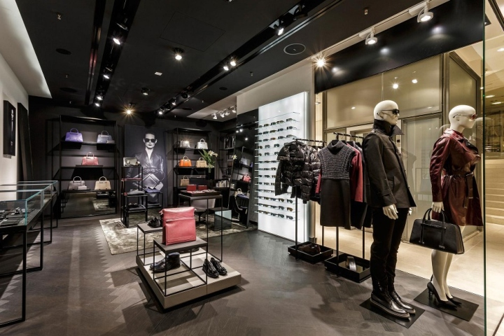 porsche design store at breuninger by plajer franz