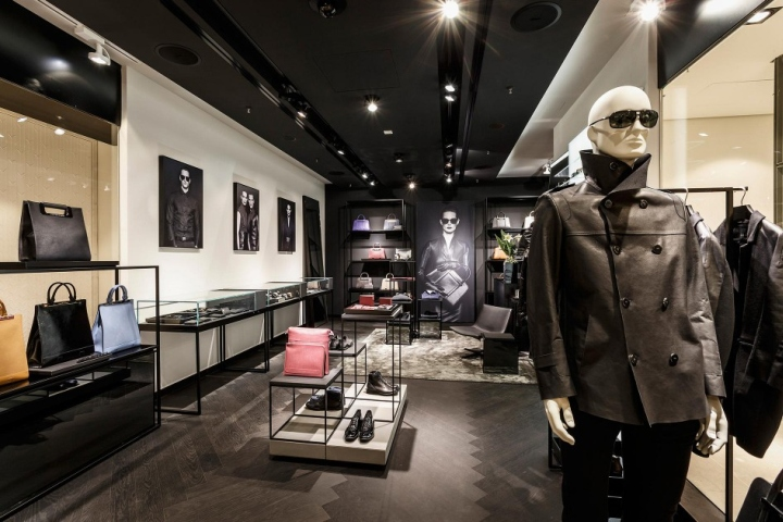 porsche design store at breuninger by plajer franz. Black Bedroom Furniture Sets. Home Design Ideas