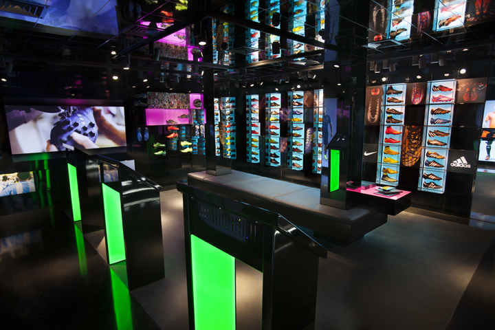 for Green room retail design