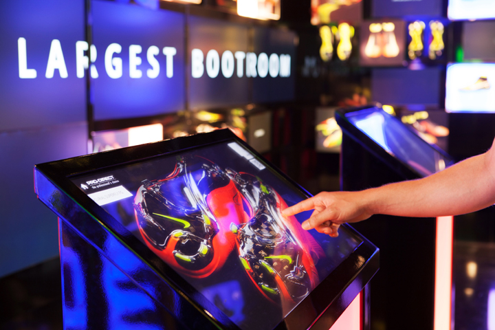 Pro direct store launch by green room retail london uk for Green room retail
