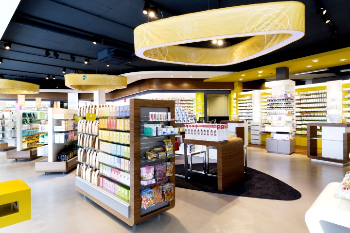 Pharmacy Design Ideas pharmacy at spar by lavanya naidoo via behance Maximizing Creative Space With An Open Pharmacy Floor Plan